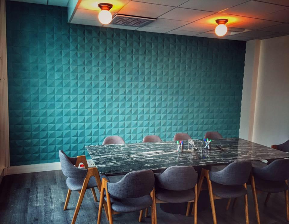 Organic Blocks - Peak Turquoise - Conferance