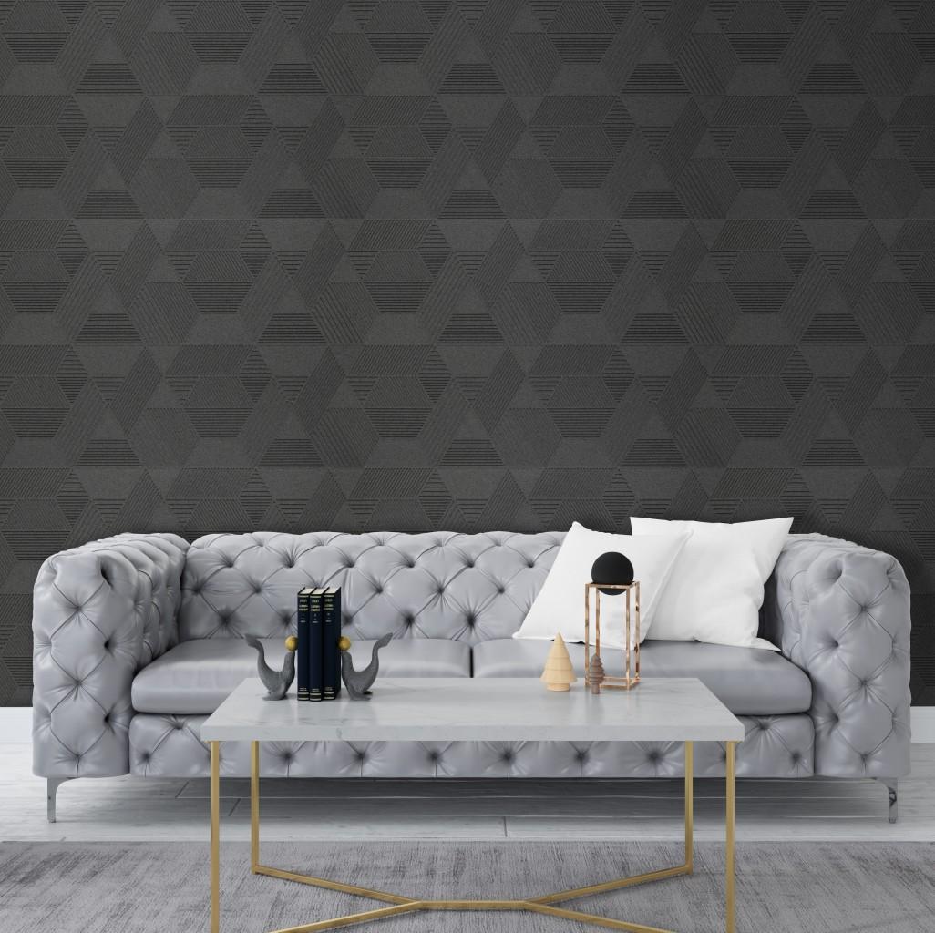 Geometric - Grey