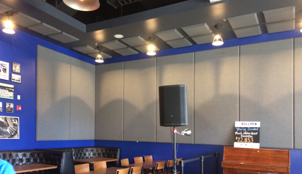 decor-flat-panels-bar sound stage