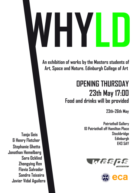 Flyer (A5) Whyld