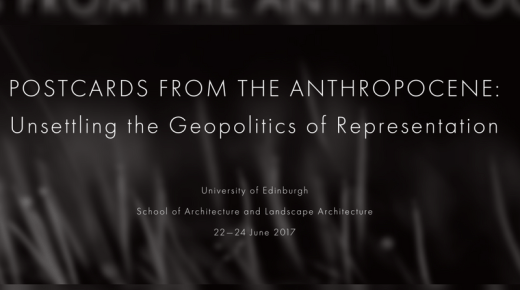 Call for Papers: Postcards from the Anthropocene
