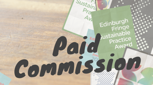 Opportunity: Commissioned Sustainable Award Piece, Scotland