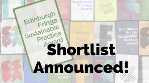 Shortlist: Sustainable Practice Award!