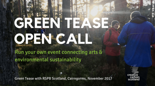 Opportunity: Green Tease Open Call