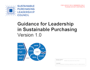 Photo of Guidance v1.0 cover page