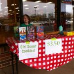 Girl Scout Selling
