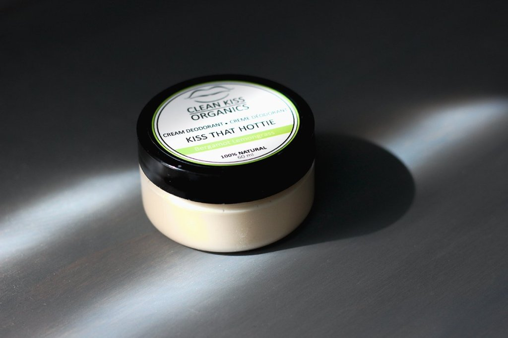 clean kiss organics natural deodorant