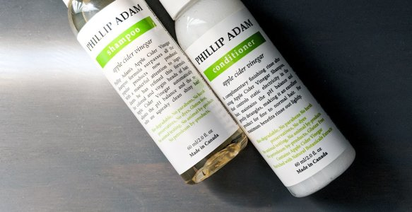 Cleanse Your Hair with Vinegar? Phillip Adam Haircare Review