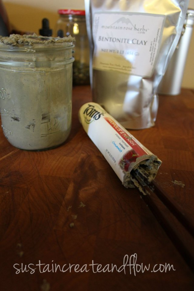 Homemade-Toothpaste-in-a-Tube