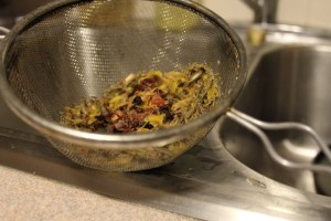 strained-herbs