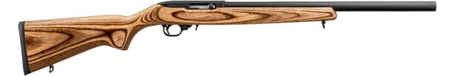 """This is a stock Ruger 10/22, the """"Target"""" model, exactly as it would come from Ruger."""