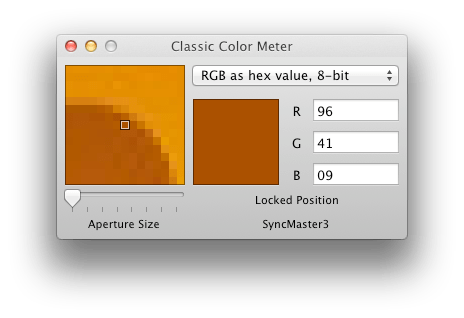 Classic Color Meter is a perfect replacement for the old Digital Color Meter