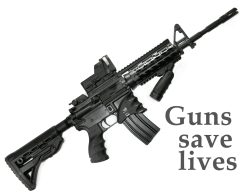 Guns save lives. Support the Second Amendment.