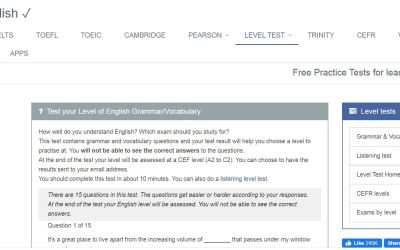 Test your Level of English Grammar/Vocabulary