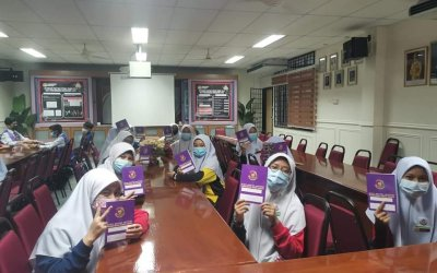 Taklimat Pengurusan PRS serta Taklimat Buku Rekod Aktiviti PRS Tahun 2021