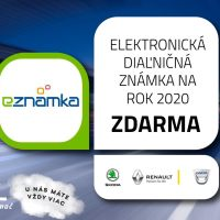 Súťaž o diaľničnú známku na rok 2020