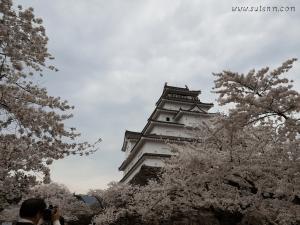 Wakamatsu castle( Tsuruga-jō)