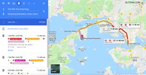 Tsim Sha Tsui, Hong Kong to Hong Kong Disneyland, Lantau Island, Hong Kong