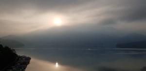 Shui sha lian hotelsun moon lake