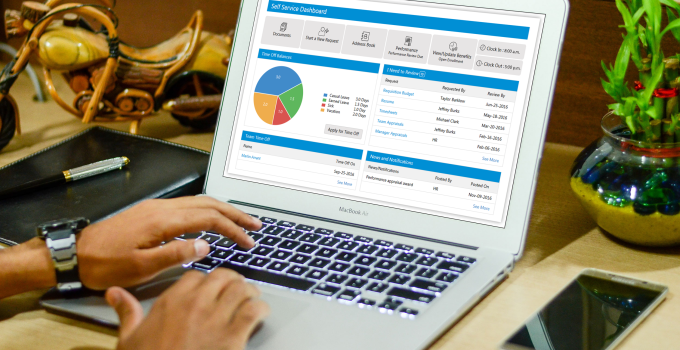HR Software Dashboard