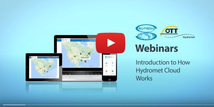 SUTRON WEBINAR: Introduction to How Hydromet Cloud Works