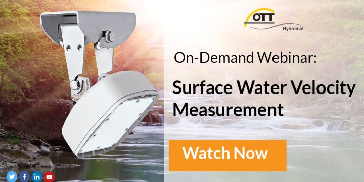 On-Demand Webinar: Surface Water Velocity Measurement