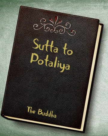 book with Sutta to Potaliya on cover