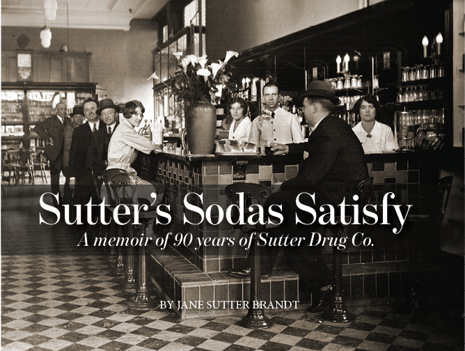 Sutter's Soda Satisfy