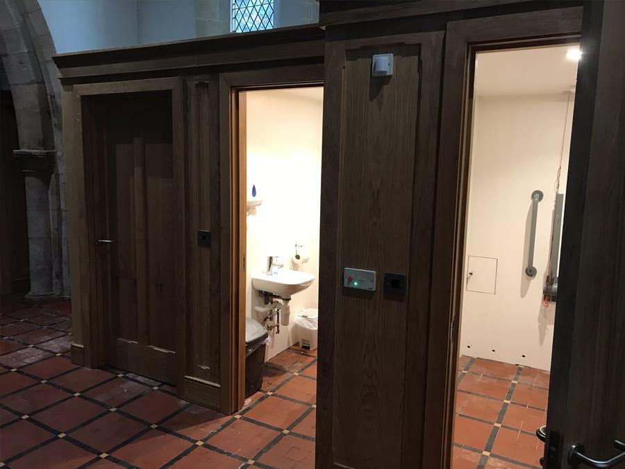 Servery Bathroom Facitilies