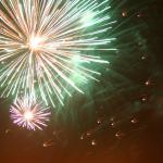 Fireworks Sutton Benger Blaze