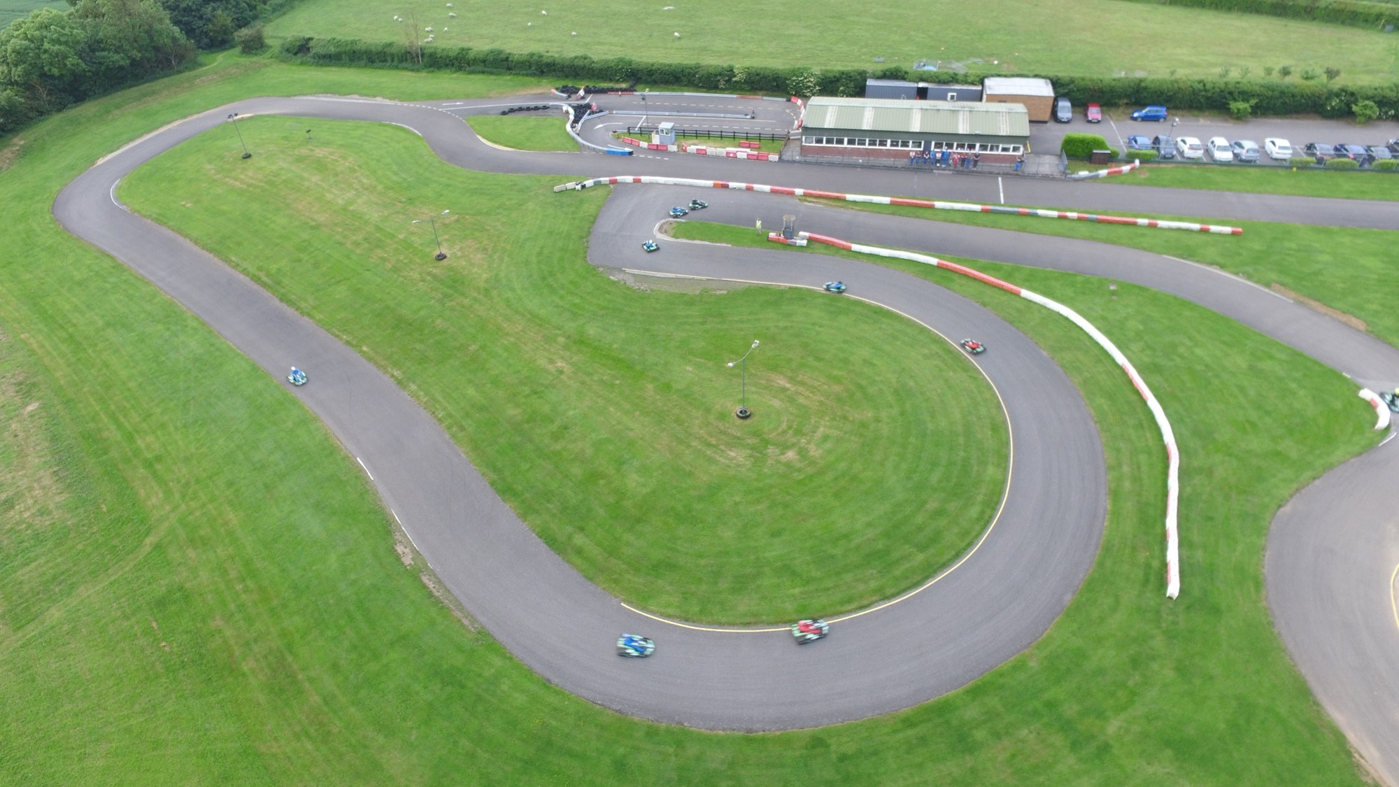 The Endless Curves of Sutton Circuit in Leicestershire