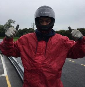 Anthony Joshua Karting at Sutton Circuit