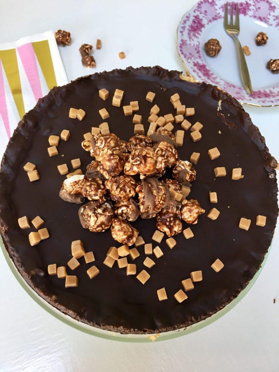 De hardloper van elke verjaardag: Banaan-karameltaart