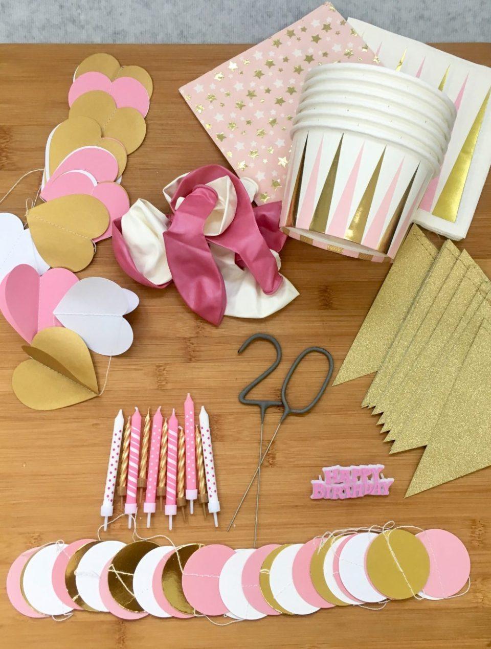 Tips om het huis te versieren voor een verjaardag