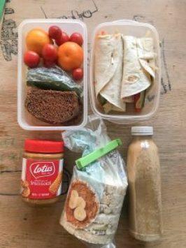 Veganistisch lunchpakket