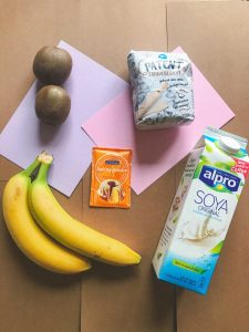 ingrediënten vegan pancakes