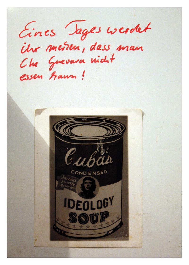 Che Guevara auf dem Kühlschrank