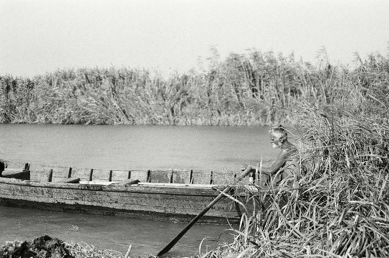 Urlaub in Rumänien 1999: Fischer im Donaudelta
