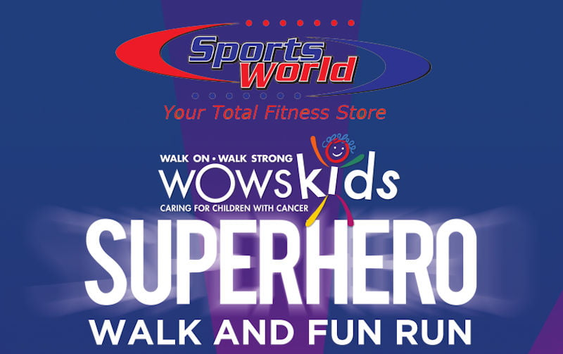 Be a SUPERHERO for a day to raise funds for our Superheros, children with CANCER #WOWSFiji #cancer #superheroforaday #runFiji