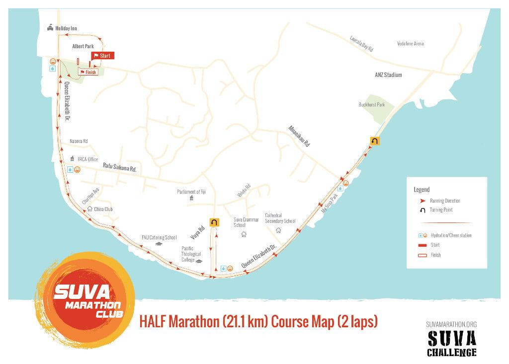 2017 Suva Challenge Half Marathon