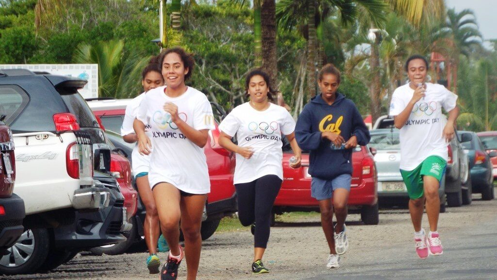 Olympic Day Fun Run - Fiji Association of Sports and National Olympic Committee