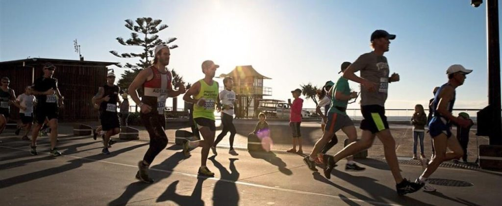Many people are now going on holiday to run a marathon