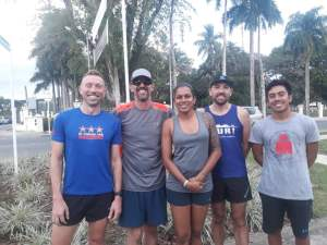 Thursday Social 5k Run Results - 4 October 2018