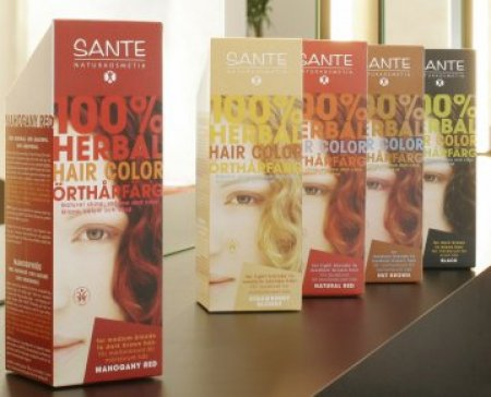 Sante Organic Herbal Hair Colours