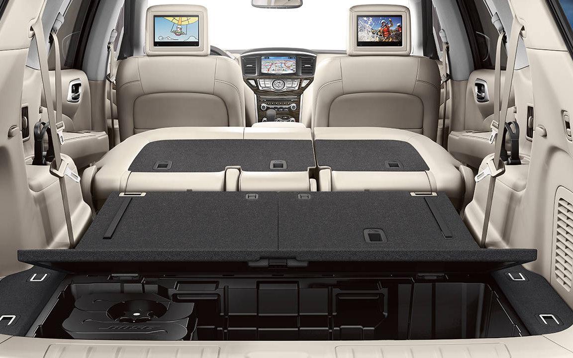 Comparison Nissan Pathfinder Platinum 2017 Vs
