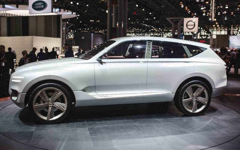 Comparison Audi Q8 Hybrid 2018 Vs Genesis Gv80 2018