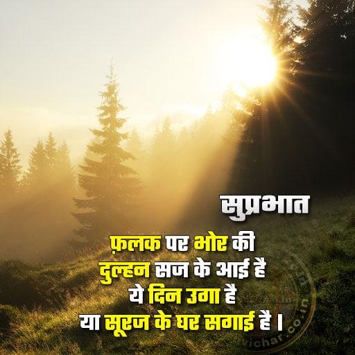 Good morning - suprabhat
