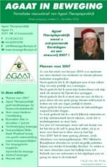 2006-12 #03 nieuwsbrief Agaat in beweging