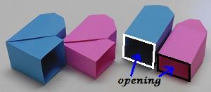 Papier op maat de opening