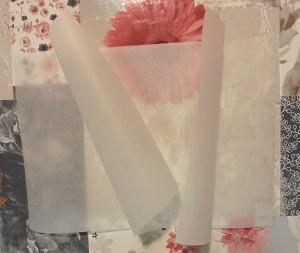 Smaken verschillen zijkanten van bakpapier ingeknipt